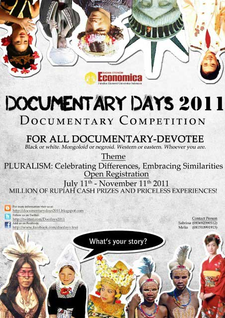 Poster Documentary Days 2011