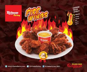 Richeese Factory Firewings