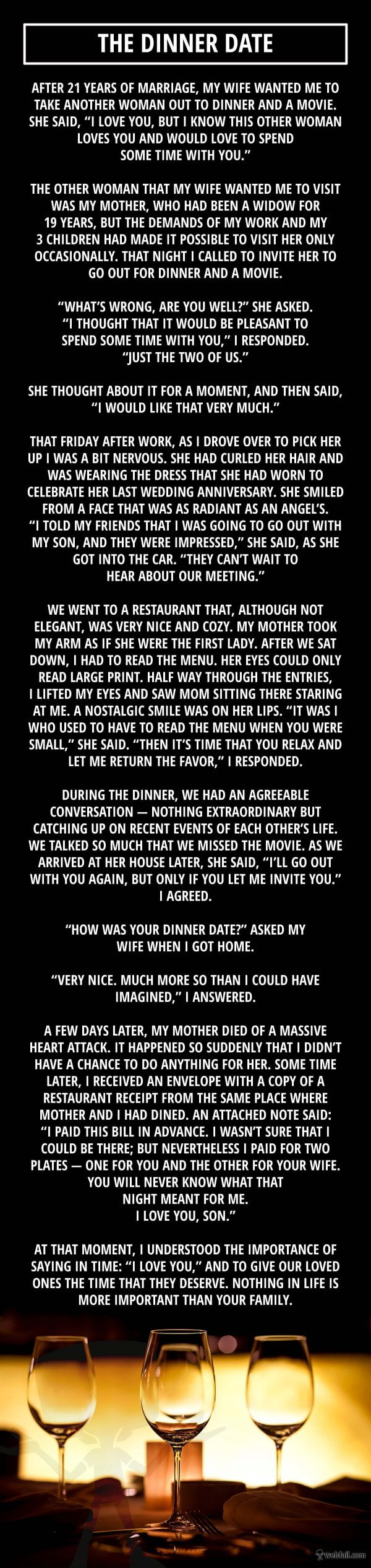 The Dinner Date via webfail.com