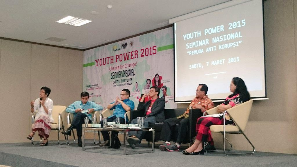 Youth Power 2015: Seminar Nasional Pemuda Anti-Korupsi