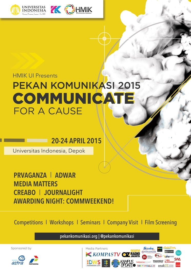 Pekan Komunikasi 2015 Communicate For A Cause Anakui Com