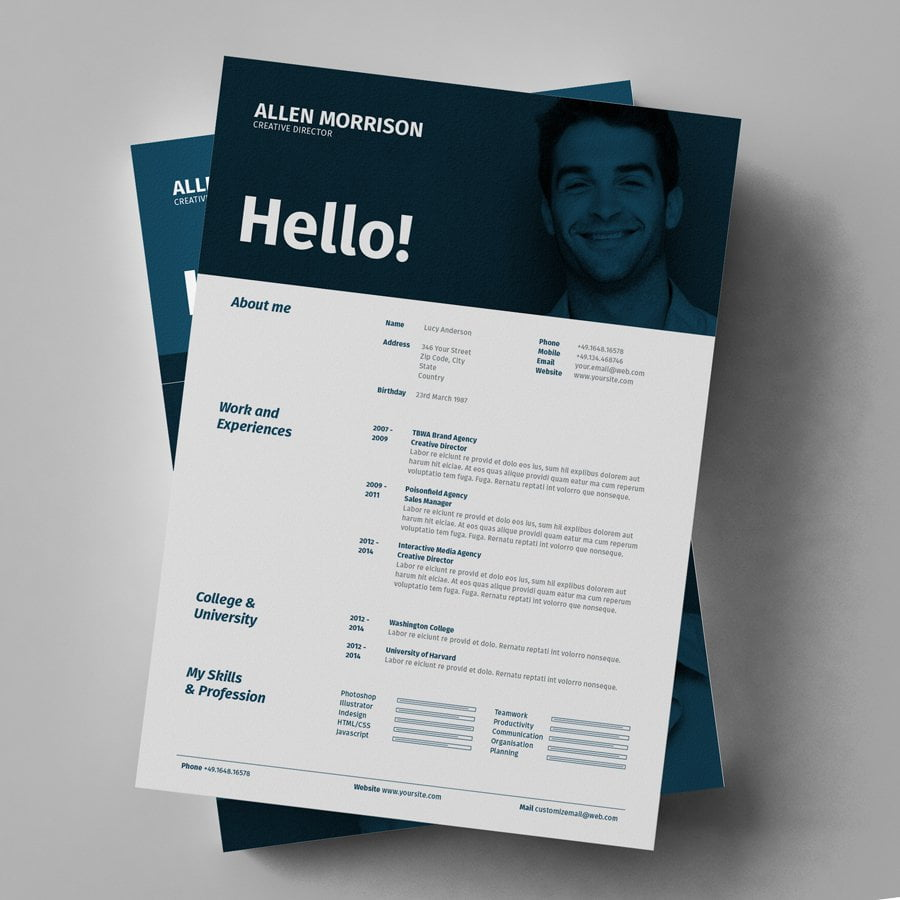 Contoh CV (Daftar Riwayat Hidup) Lamaran Kerja 1