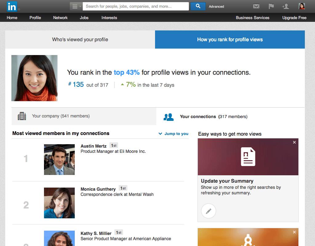 Linkedin juga bisa dipake buat ngelamar kerjaan. (Sumber: linkedin.com)