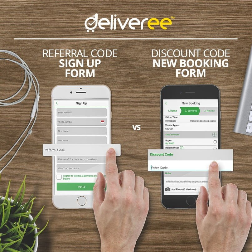 Deliveree Referral Code