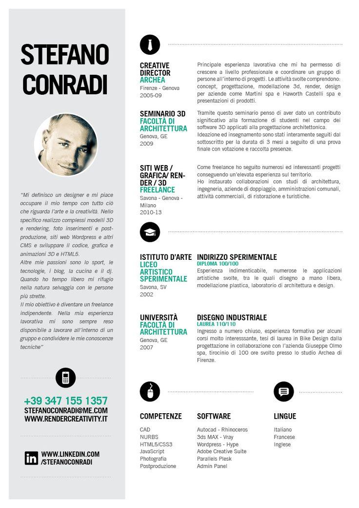 Contoh Desain CV yang Menarik 9
